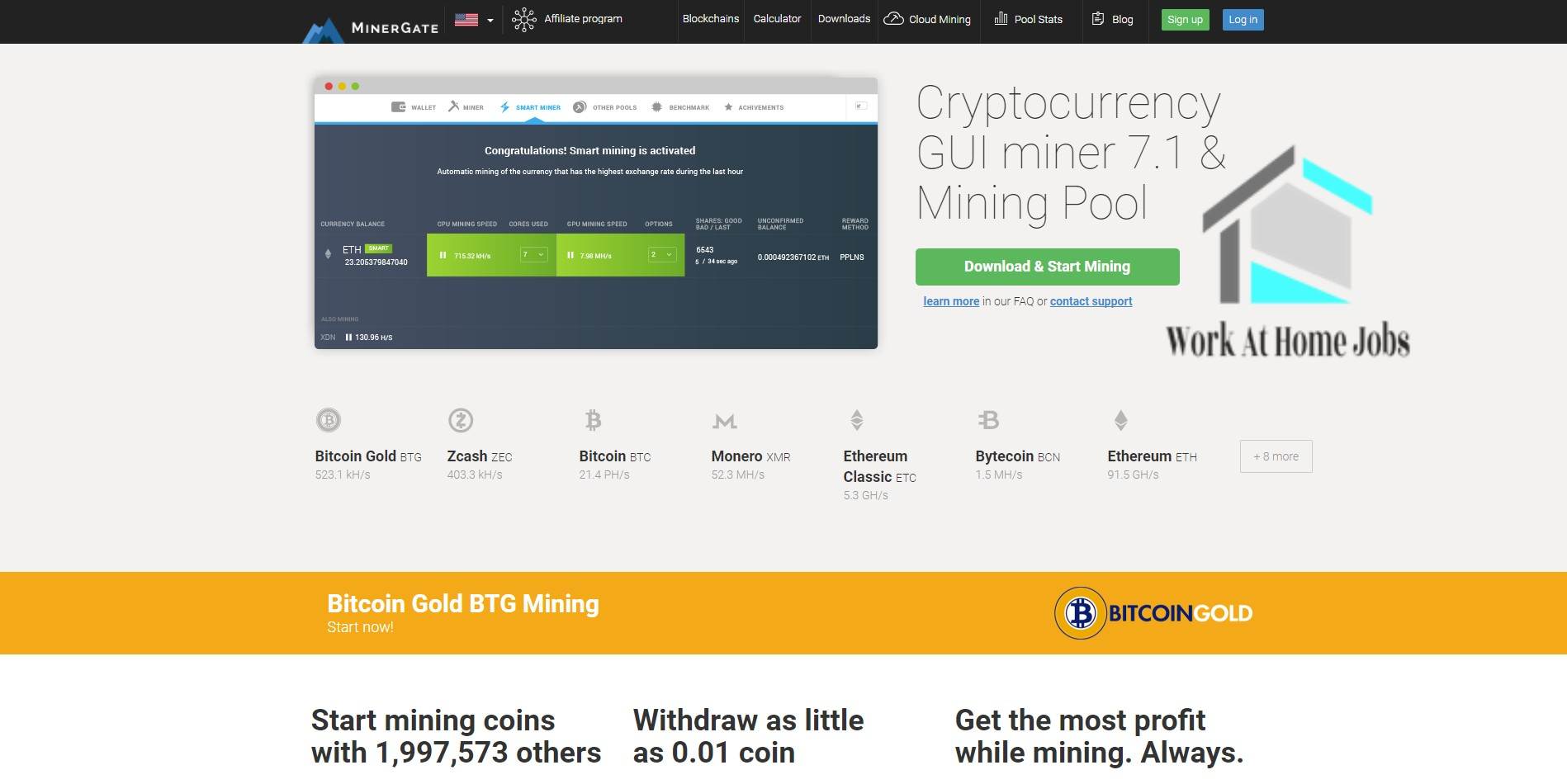 minergate review